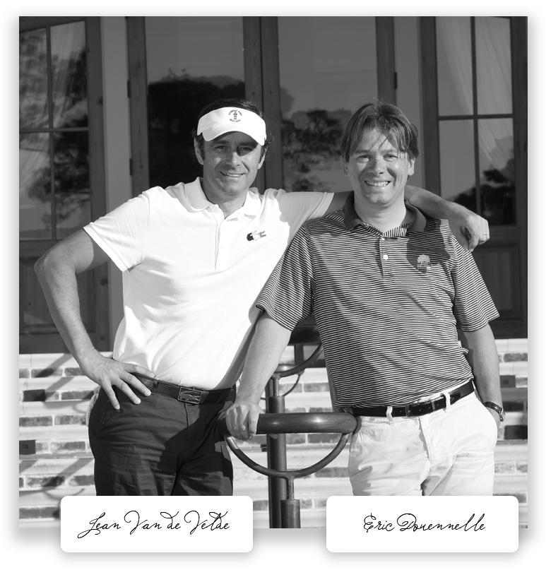 Eric Douennelle et Jean Van de Velde